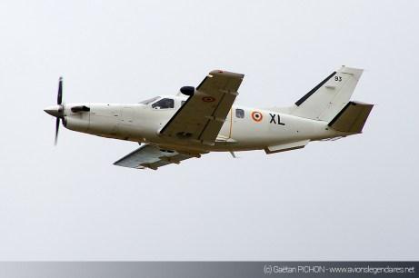 TBM-700 - Meeting Armée de l'Air - Nancy 2014