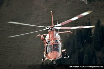 AgustaWestland AW139 de la REGA - Axalp 2012