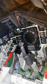 Cockpit du Viggen