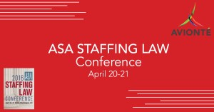 Avionte Attends ASA Staffing Law Conference