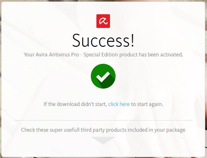 How do I install Avira Antivirus Pro bought by retail?
