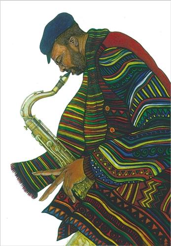 Jazzin by Charles Bibbs