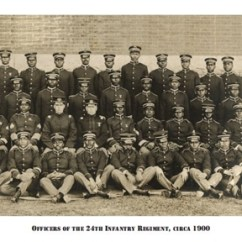 Vintage Posters For Kitchen Buy Metal Cabinets African American Officers Of The 24th Infantry Regiment ...