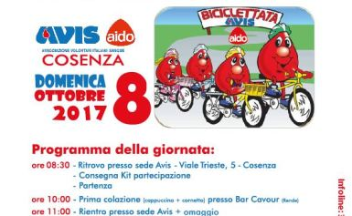 """""""Biciclettata"""" Domenica 8 ottobre 2017"""
