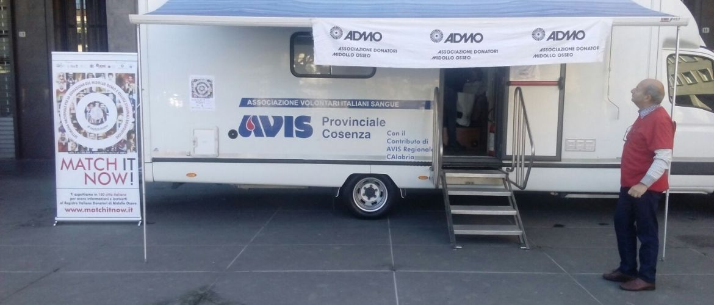 Avis Provinciale all'evento ADMO a Cosenza – 14 ottobre 2017
