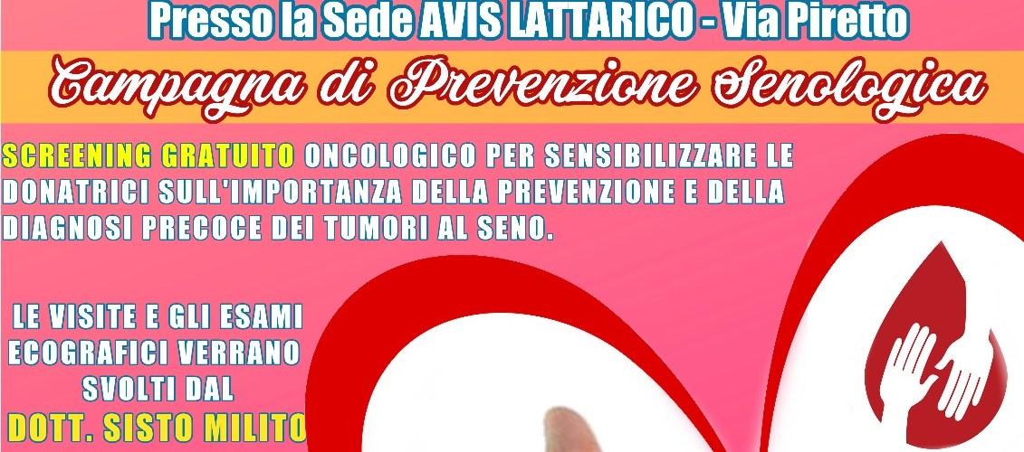 Campagna di Prevenzione Senologica presso le sedi Avis della provincia di Cosenza
