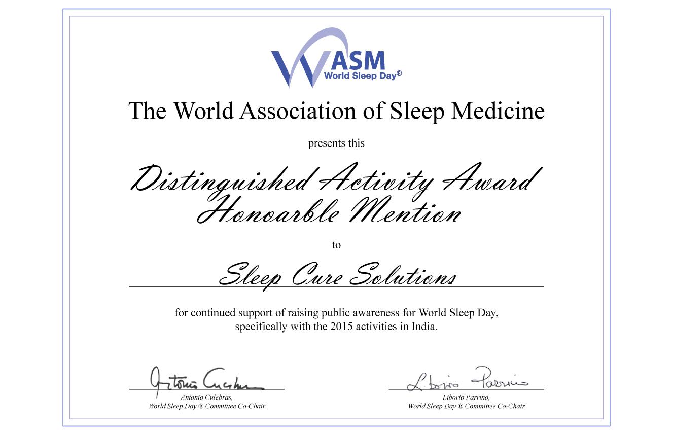 2015 World Sleep Day