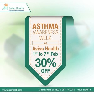 Asthma Awareness Week at AVISS HEALTH (1st to 7 th Feb)