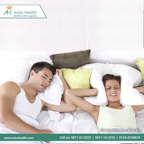 Snoring and Sleep Apnea, Aviss Health, Gurgaon