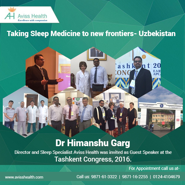 Taking Sleep Medicine to new frontiers – Uzbekistan