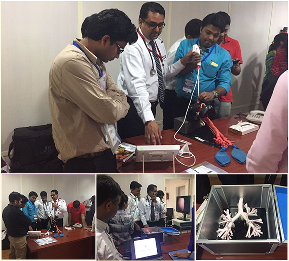 Bronchoscopy Workshop Conducted By Dr Himanshu Garg, Respiratory & Critical Care Specialist, Aviss Health