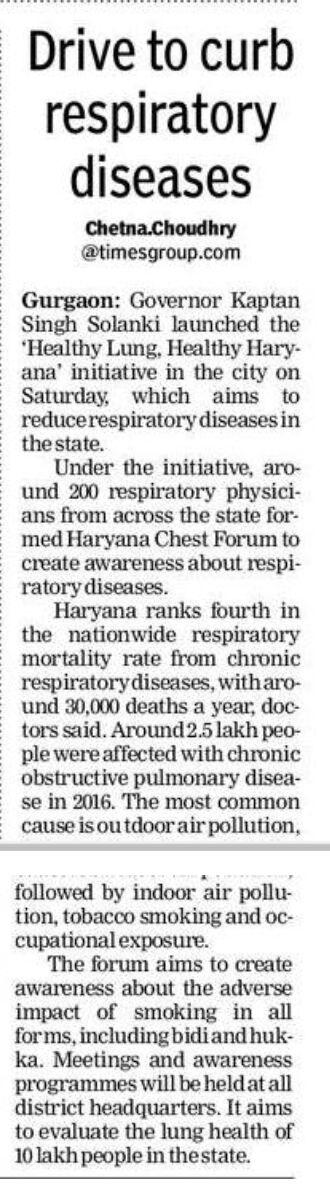Respiratory Specialist gurugram Dr Himanshu garg