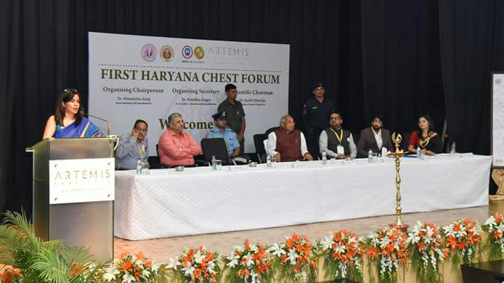 inauguration of the haryana chest summit 2018