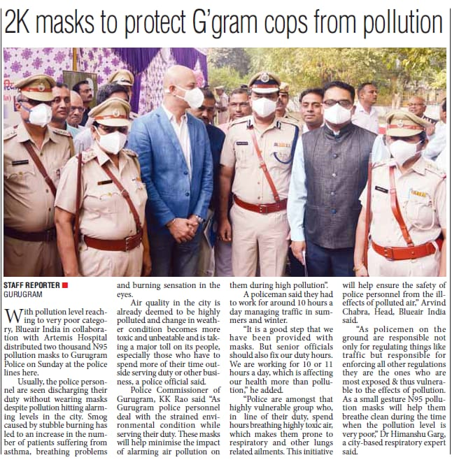 Pollution in Gurugram