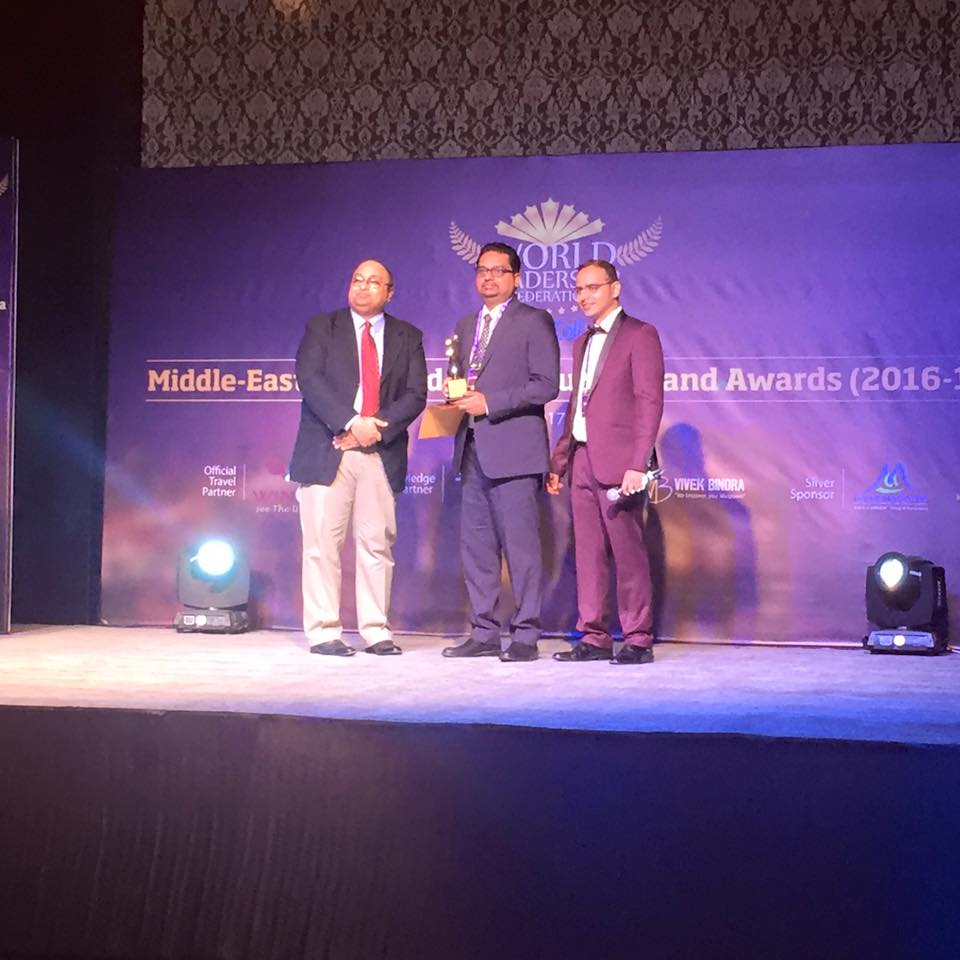 Dr. Himanshu Awarded Young Achiever Award