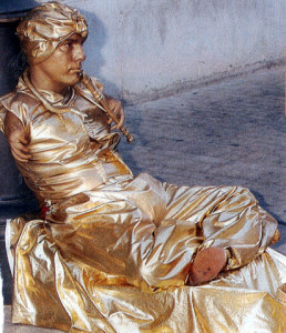 Juan Carlos Velez estatua