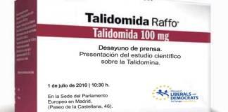 Resultado de búsqueda talidomida Grünenthal Contergan Vanesa Fernández investigadora española