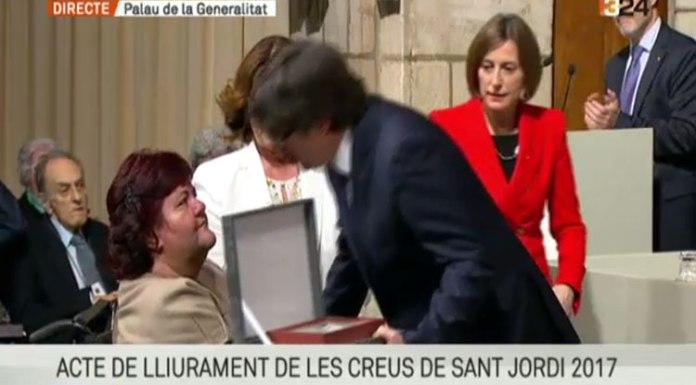 Resultado de búsqueda talidomida Grünenthal AVITE recoge la Cruz de Sant Jordi