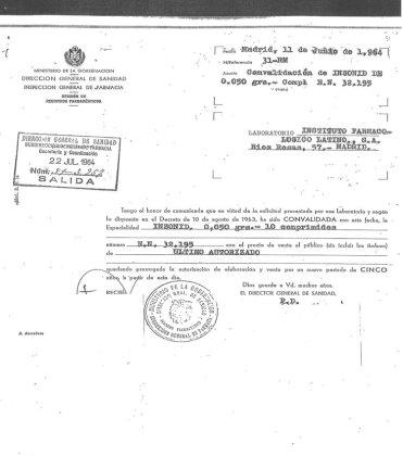44 años enterrado Franco y 63 años del primer talidomídico