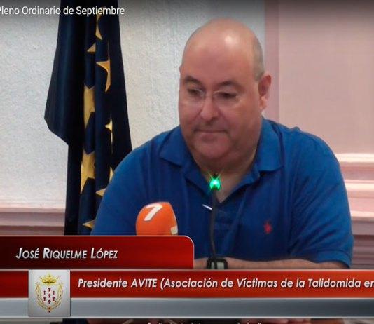 Moción apoyo a AVITE y afectados Talidomida del Ayuntamiento Alcantarilla talidomida grunenthal