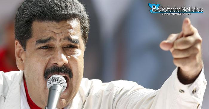 AMENAZAS: Presidente Maduro castigará a quienes oren en contra de su gobierno