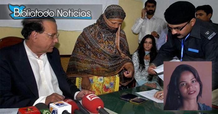 Asia Bibi La cristiana acusada de blasfemia contra Mahoma es absuelta de pena de muerte