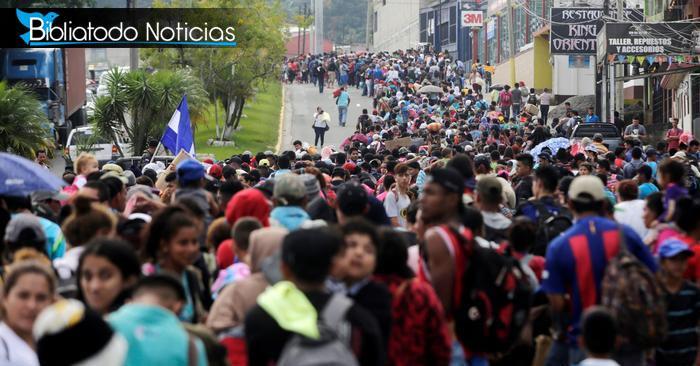 Caravana de migrantes a EE.UU es respaldada por masivo grupo de Cristianos