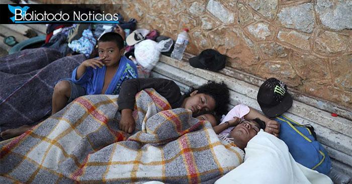 Golpeados por graves enfermedades están los migrantes que van hacia EE.UU