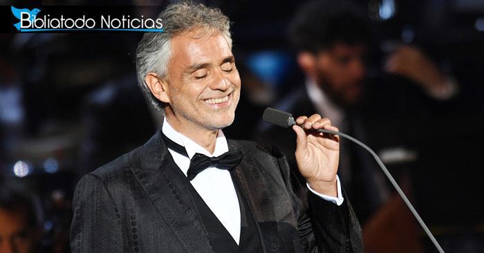 Andrea Bocelli habla de su fe en Jesús en especial de Navidad de canal cristiano
