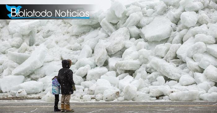 ¡Climas fuera de control! Ola de Frío en EE.UU se convierte en tsunami de hielo