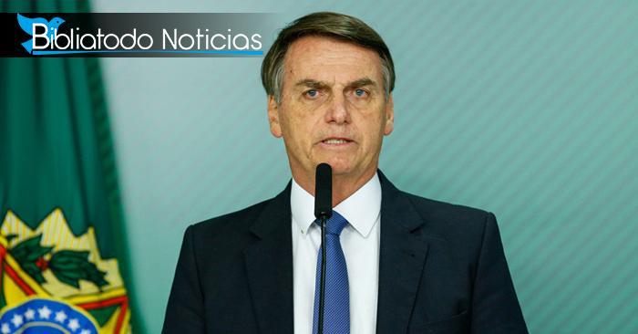 ¡EDUCACIÓN LIBRE! Bolsonaro elimina todo el contenido LGBT de las escuelas de Brasil