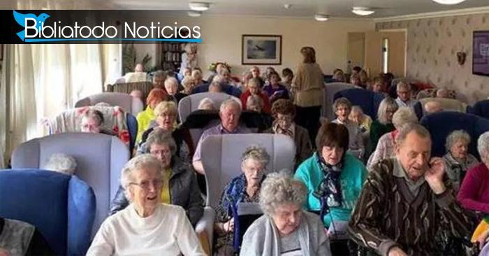 90 ancianos aceptaron a Cristo durante culto en asilo