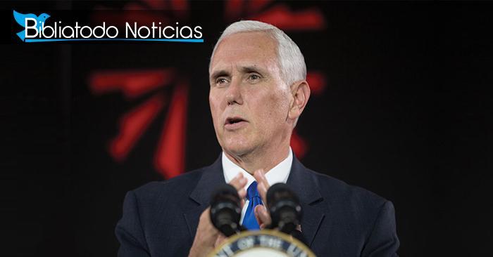 """Vicepresidente de EE.UU pide """"ayuda"""" a pueblo cristiano por persecución"""
