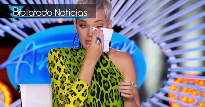 ¡Conmovedor! Katy Perry relata con lágrimas lo que vivió dentro de la iglesia