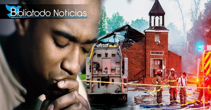 """Pastores duermen dentro de sus iglesias para resguardarlas de incendios """"racistas"""""""