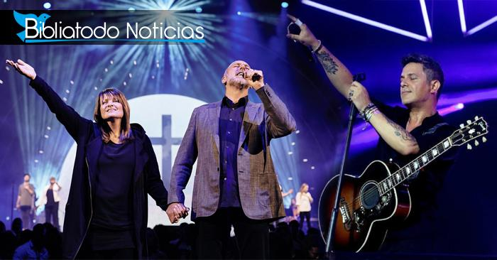 Alejandro Sanz y Hillsong de gira juntos, ¿se convirtió a Cristo?