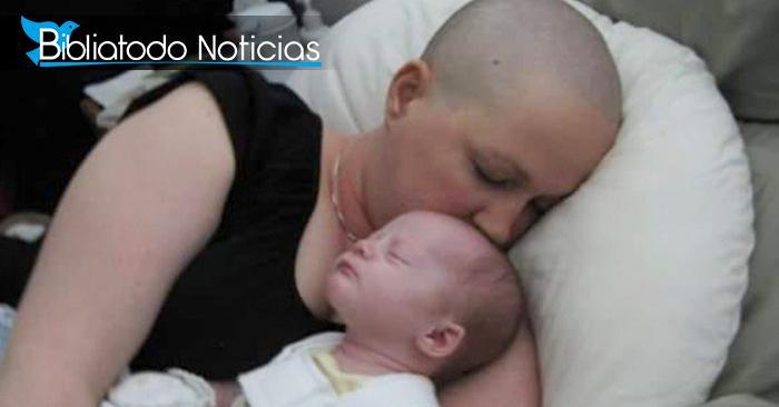 MILAGRO: Diagnosticada con cáncer, decidió tener un hijo
