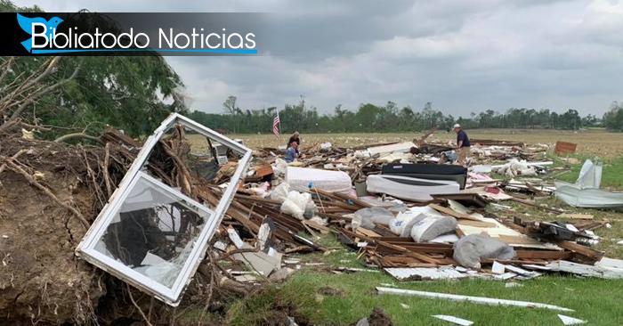 Sorprendente condición de Biblia en una casa destruida por tornado en EE.UU