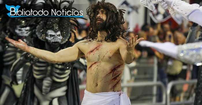 """Río de Janeiro mostrará a un Jesús """"impío"""" como figura central de próximo carnaval"""