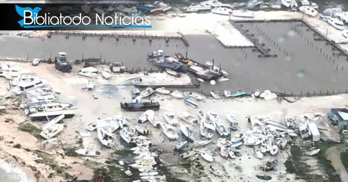 Bahamas antes y después de la furia de Dorian