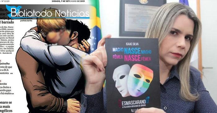 Miles de libros contra la ideología de género distribuidos en toda Brasil tras polémica de beso gay