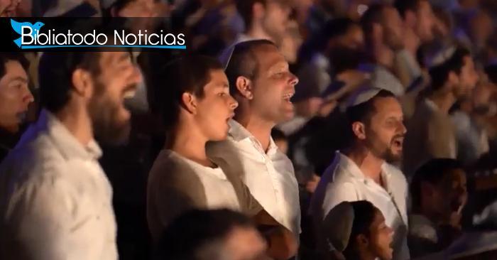 Levitas cantando en el Monte del Templo