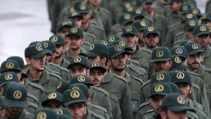 Personal del Cuerpo de la Guardia Revolucionaria de Irán