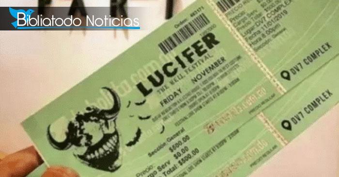 """Suspenden evento """"LUCIFER, Festival del Infierno"""" en República Dominicana."""