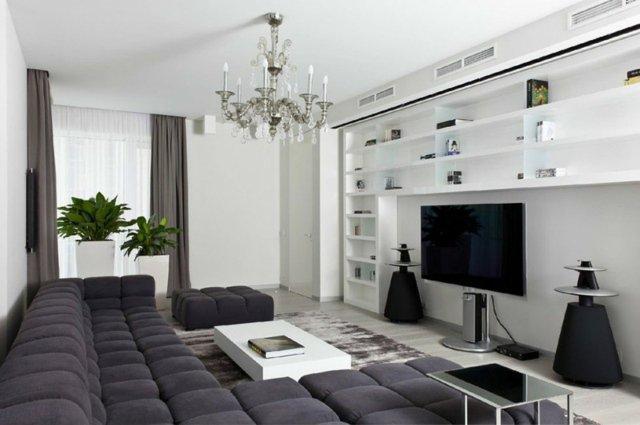 Ide dco moderne salon  Design en image