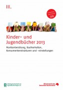 Cover Kinder- und Jugendbuchstudie 2013