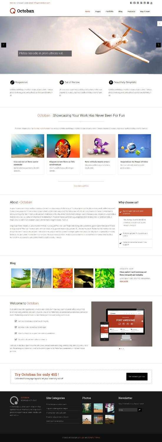 octoban symphonythemes avjthemes 01 - ST Octoban Drupal Theme