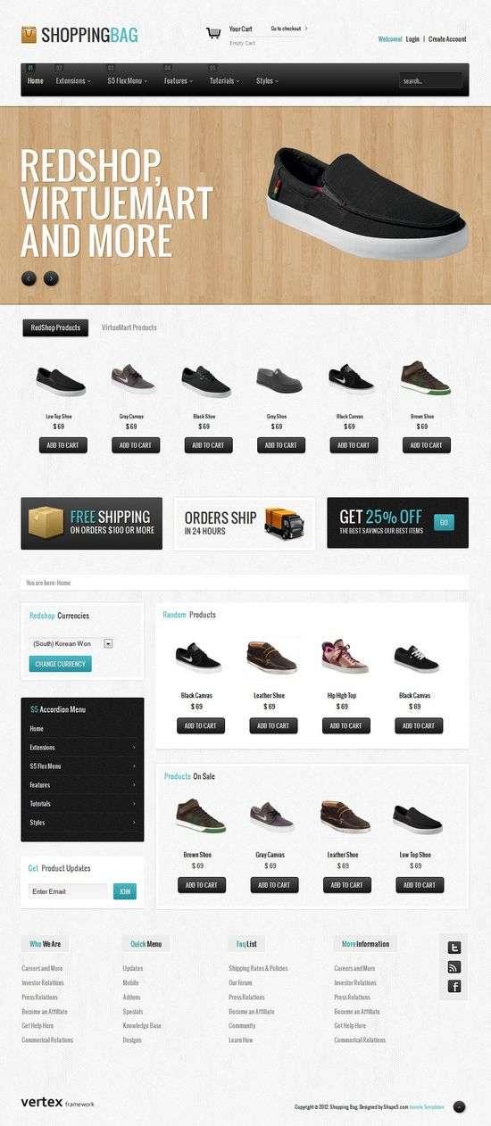 shopping bag shape5 avjthemescom 1 - Shopping Bag Joomla Template