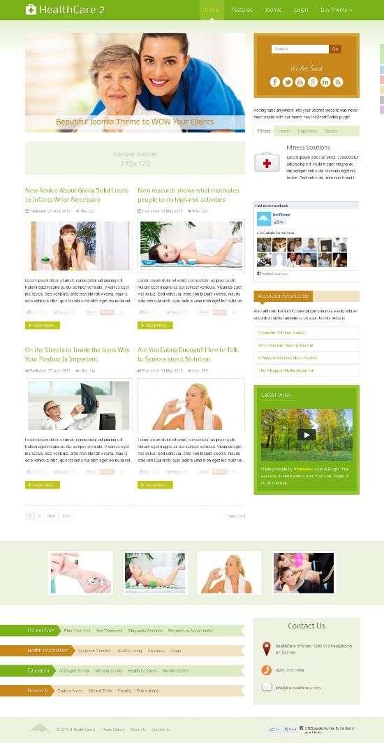 it healthcare 2 icetheme avjthemescom 01 - IT Healthcare 2 Joomla Template