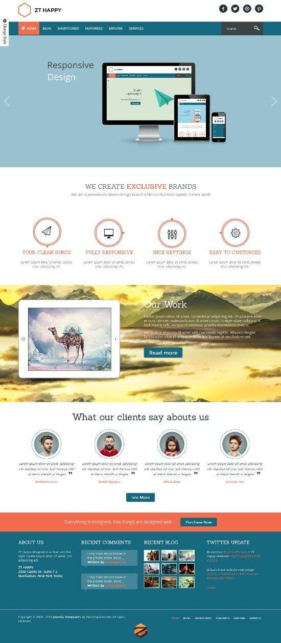 zt happy zootemplates avjthemescom 01 - ZT Happy Joomla Template